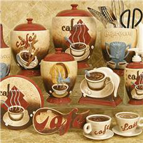 Coffee Cup Decor For Kitchen Coffetable