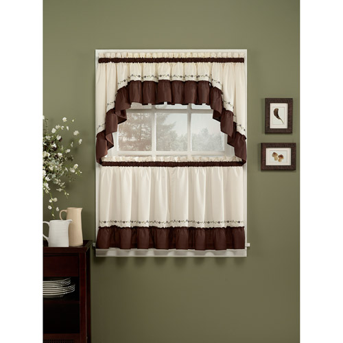 Coffee kitchen curtains photo - 3