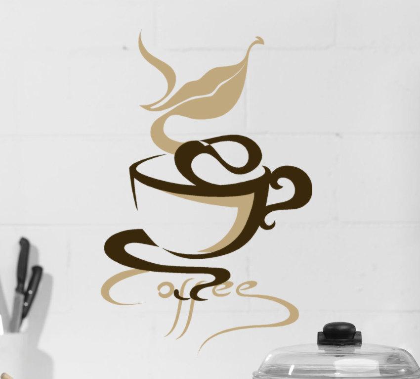 Coffee kitchen decor photo - 2