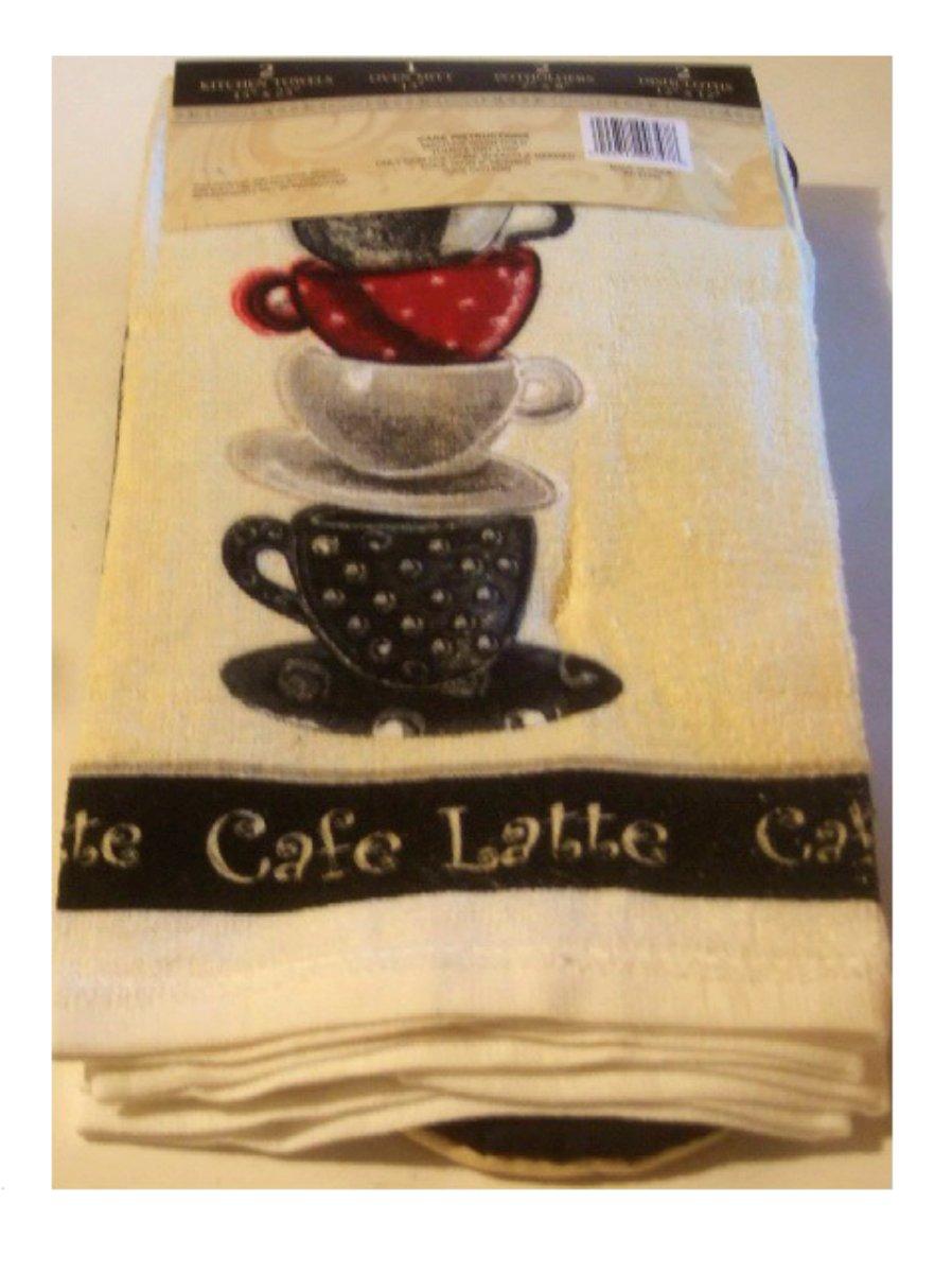 Coffee kitchen towels photo - 3