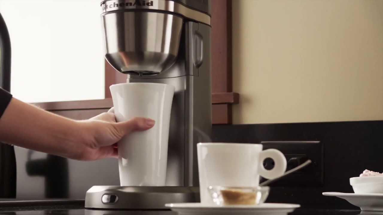 in this review we want to show you coffee maker kitchenaid see high