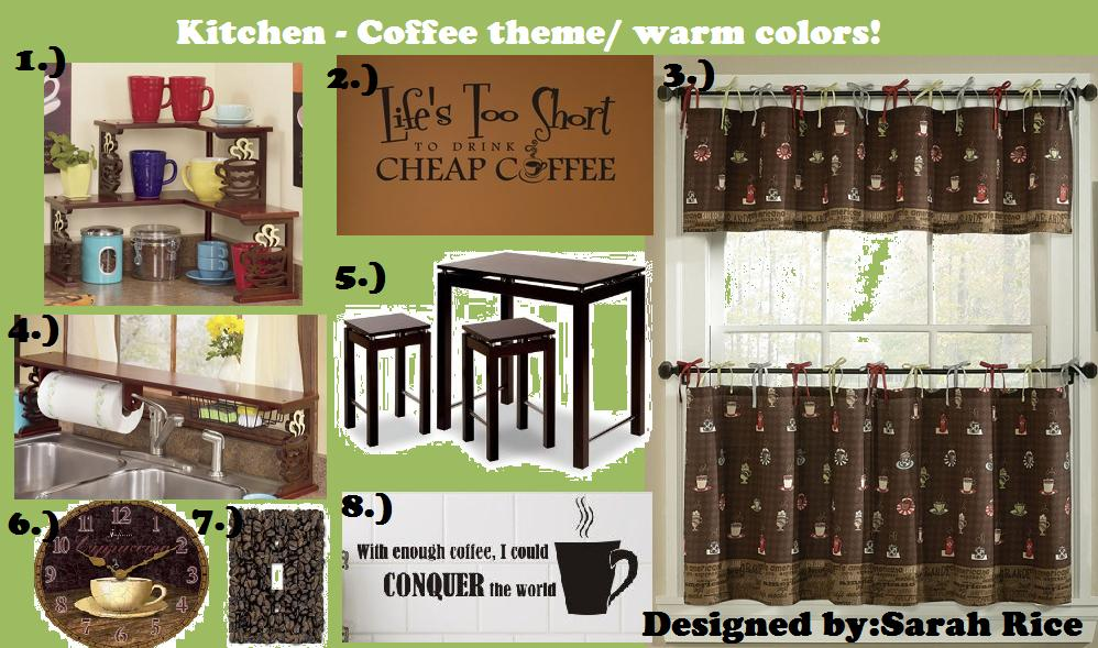 Coffee Themed Kitchen Curtains Photo   1