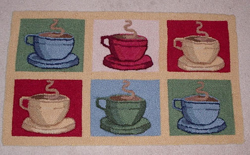Coffee themed kitchen rugs photo - 1