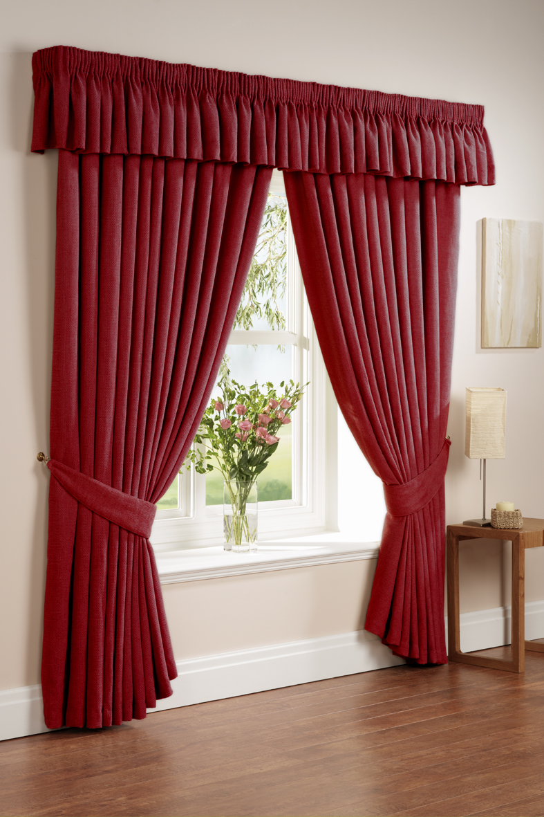 Colorful kitchen curtains photo - 2