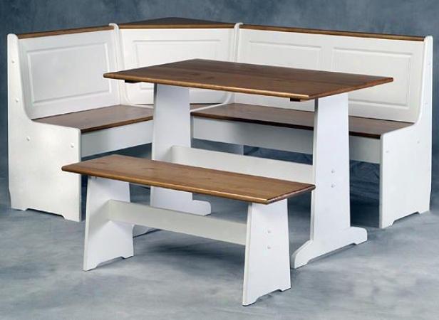Corner kitchen nook table photo - 1