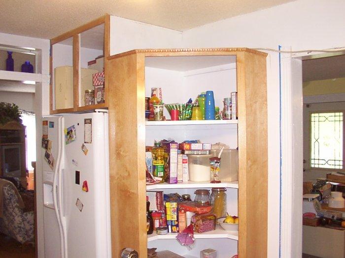 Corner Kitchen Pantry Kitchen Ideas