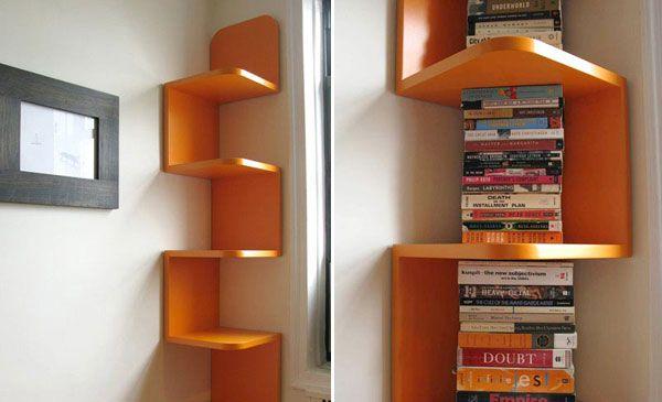 Corner shelf for kitchen photo - 3