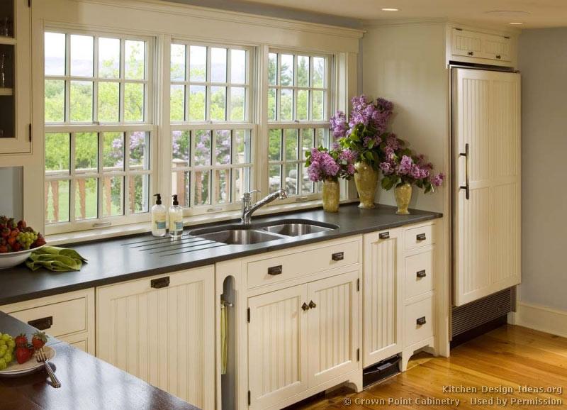 Cottage kitchen island photo - 2