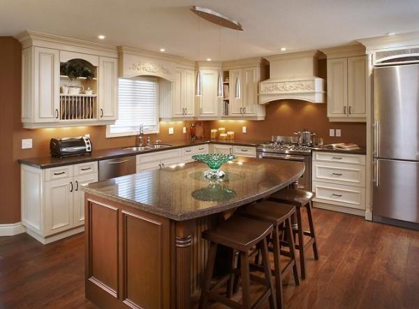 Cottage kitchen island photo - 3