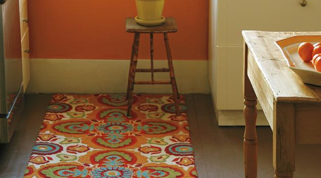 Cotton kitchen rugs photo - 3