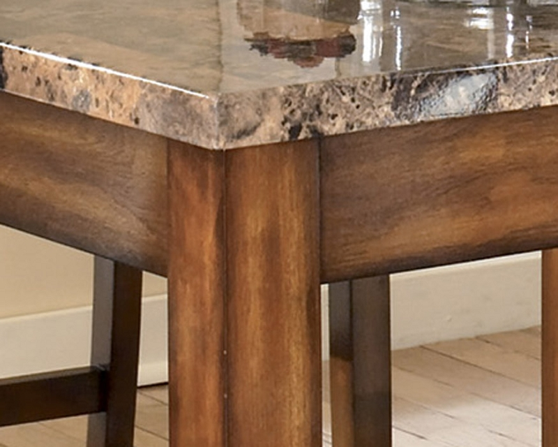 Counter height kitchen table and chairs photo - 2
