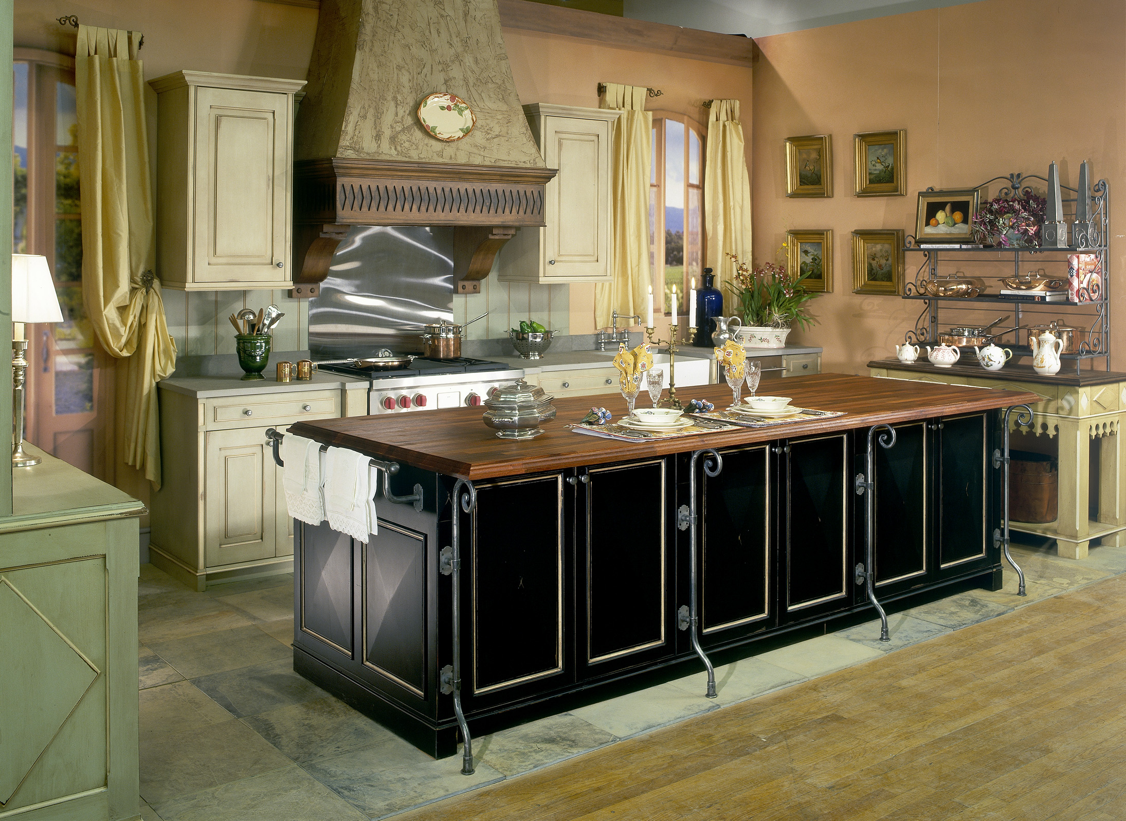 Country kitchen sets photo - 1