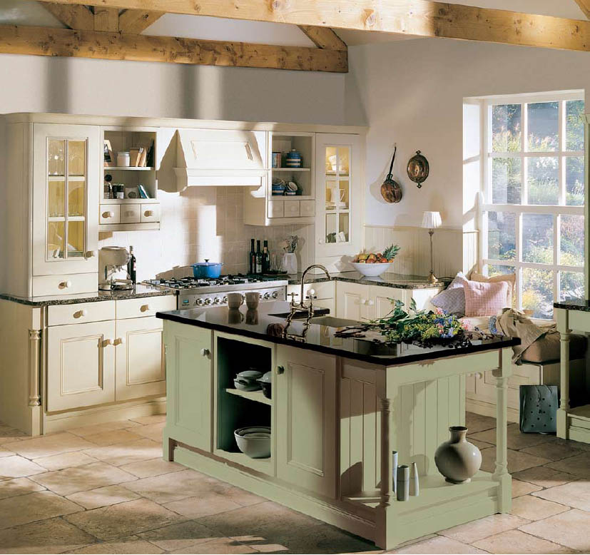Country kitchen table sets photo - 3