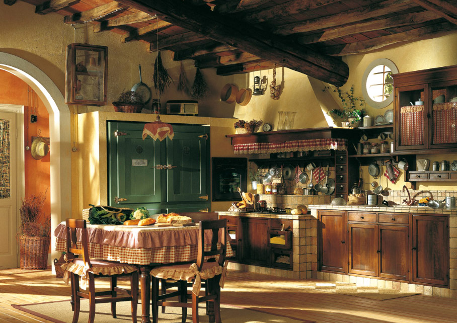 Country kitchen tables and chairs photo - 2
