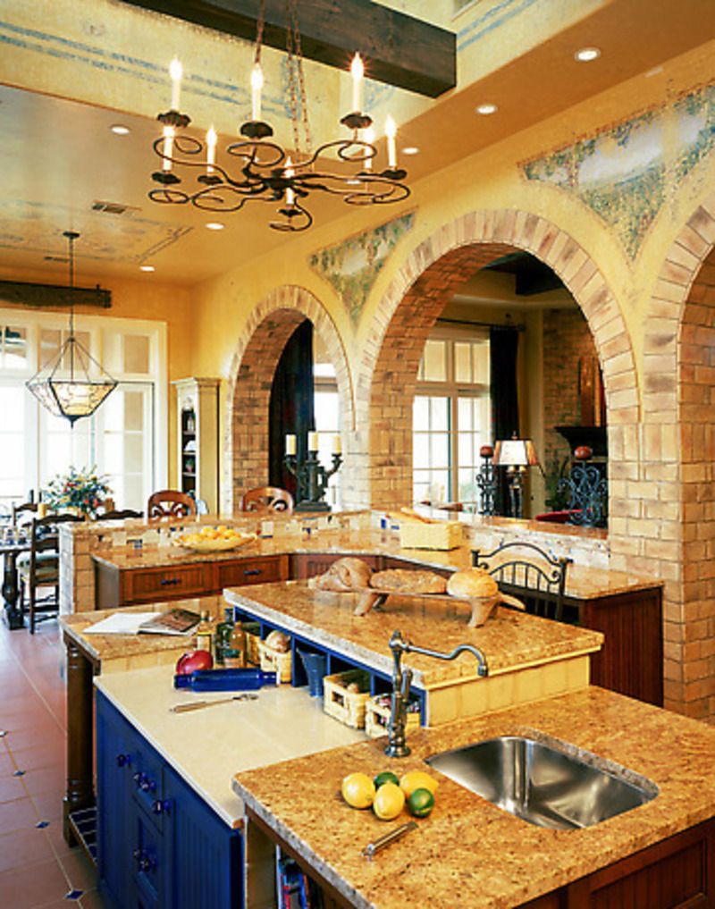 Country style kitchen island photo - 3