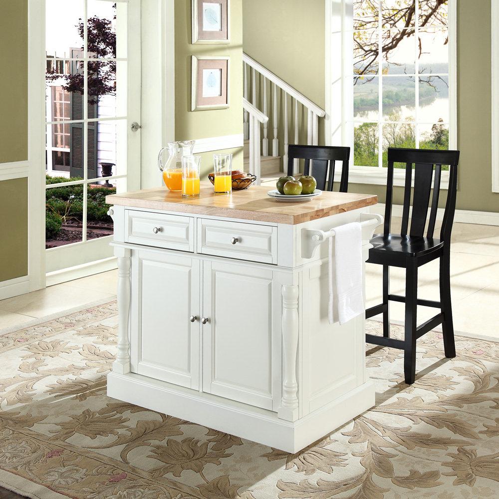 Crosley furniture kitchen island photo - 3