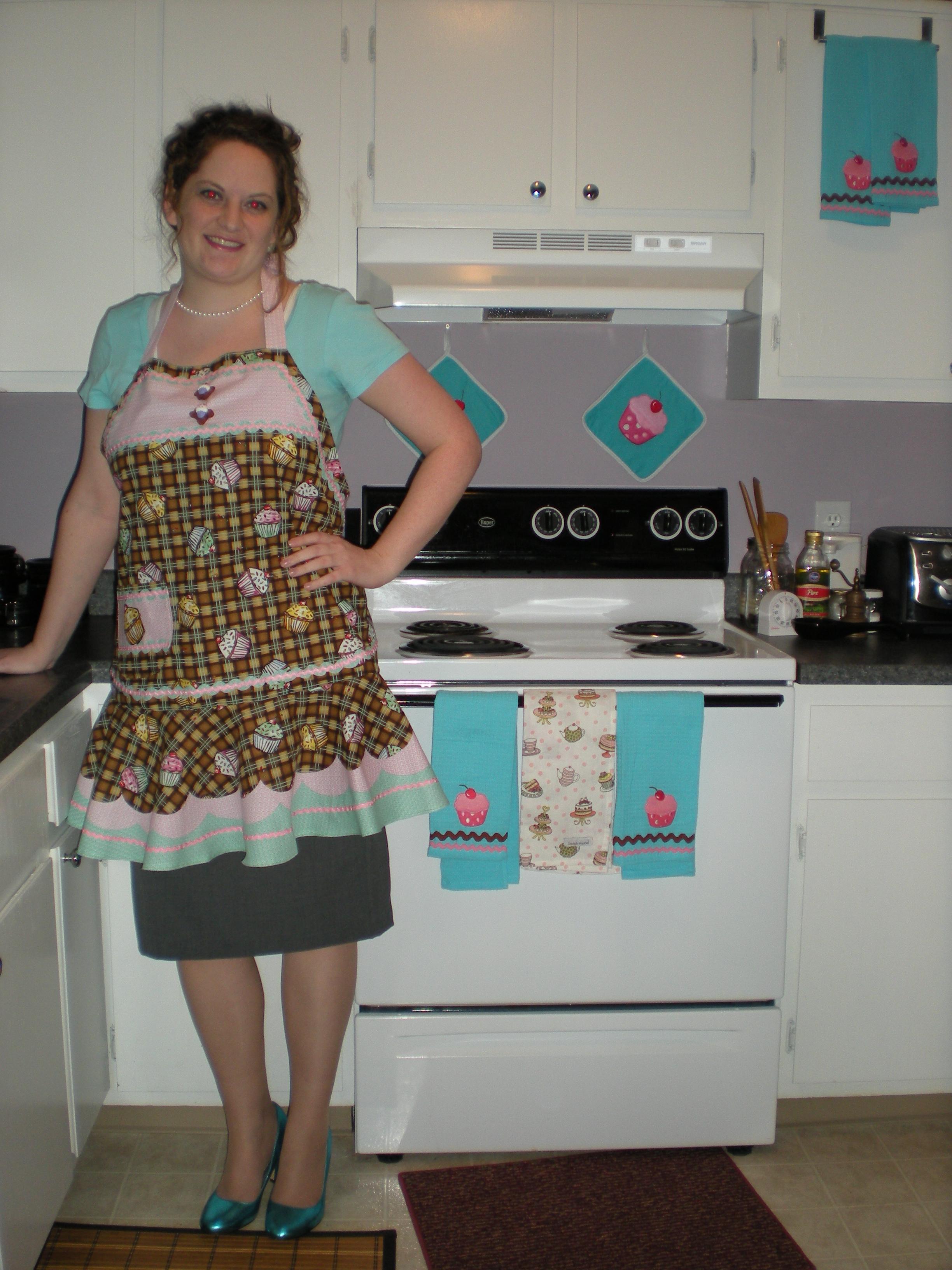 Cupcake Kitchen Towels Ideas