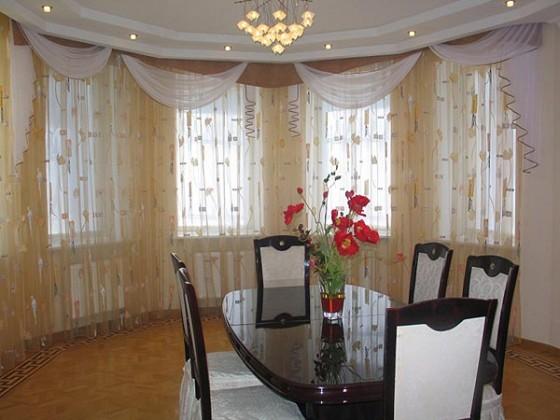 Curtains kitchen window ideas photo - 3
