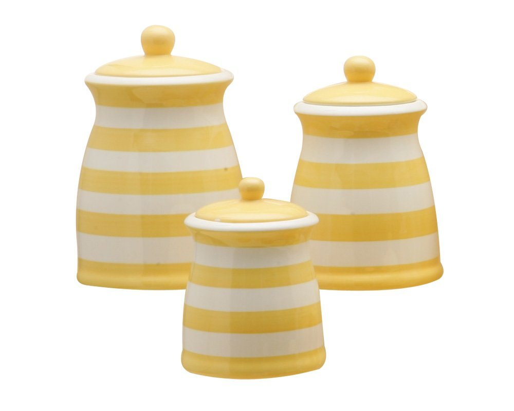 Decorative kitchen canisters photo - 3