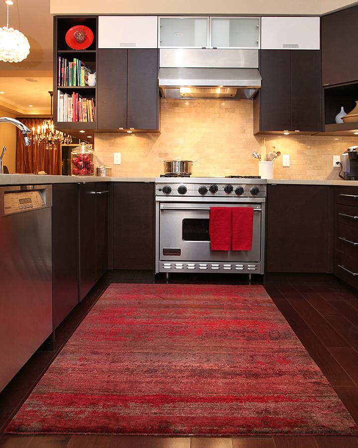 Decorative kitchen rugs photo - 3
