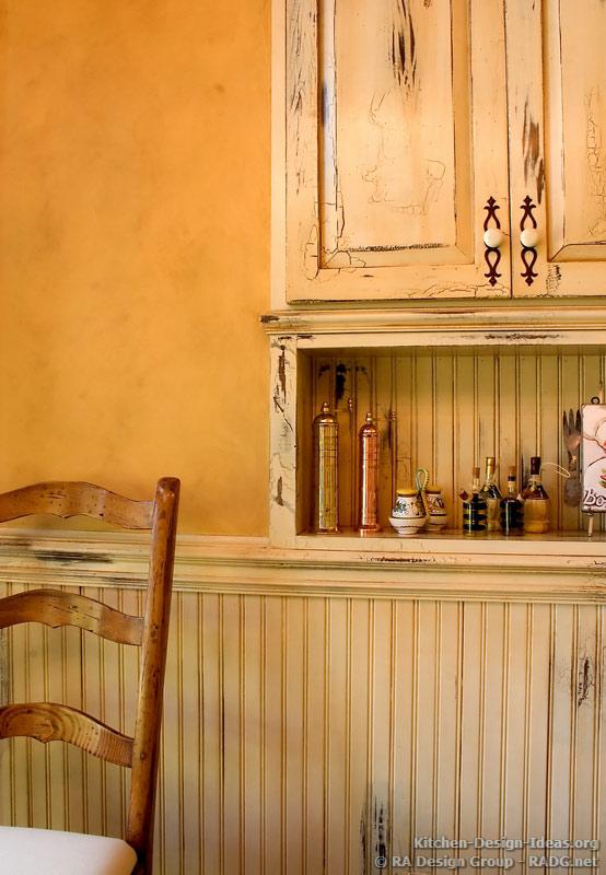 Distressed kitchen island photo - 3