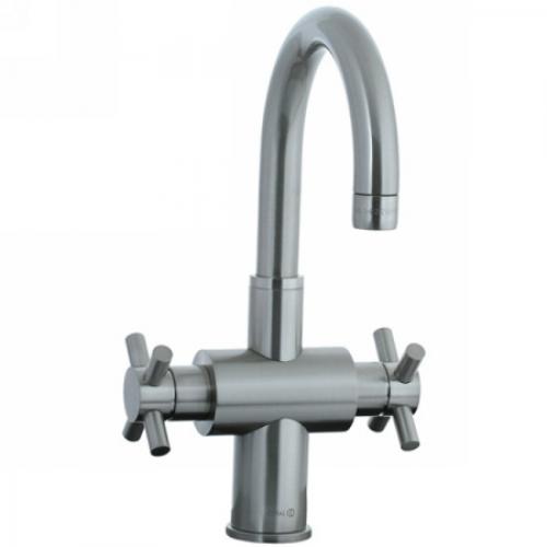 Double handle kitchen faucet photo - 3