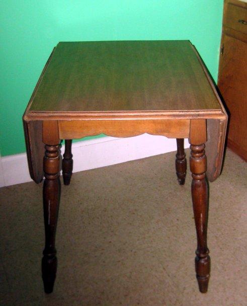 Drop down kitchen table photo - 1