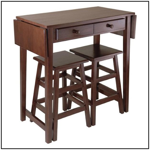 Drop down kitchen table photo - 3