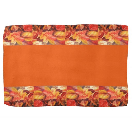 Fall kitchen towels photo - 1