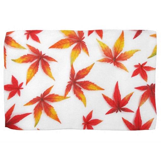 Fall kitchen towels photo - 3