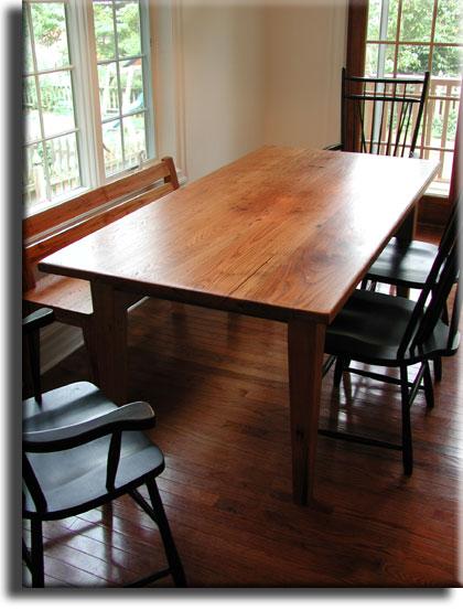 Farm kitchen table photo - 1
