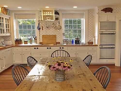 Farm kitchen table photo - 2