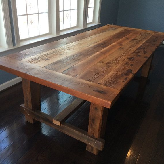 Farm style kitchen tables photo - 3