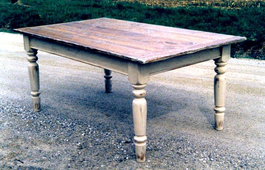 Farmhouse kitchen table photo - 1