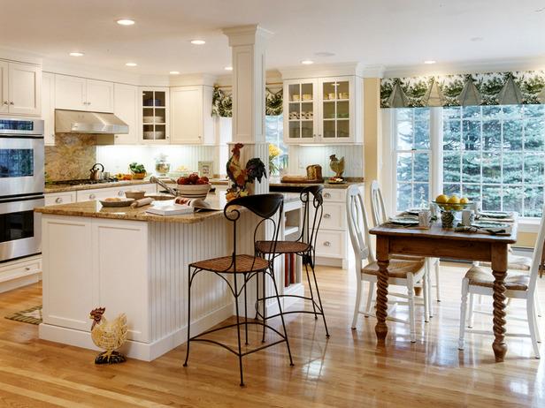 Farmhouse kitchen table sets photo - 3