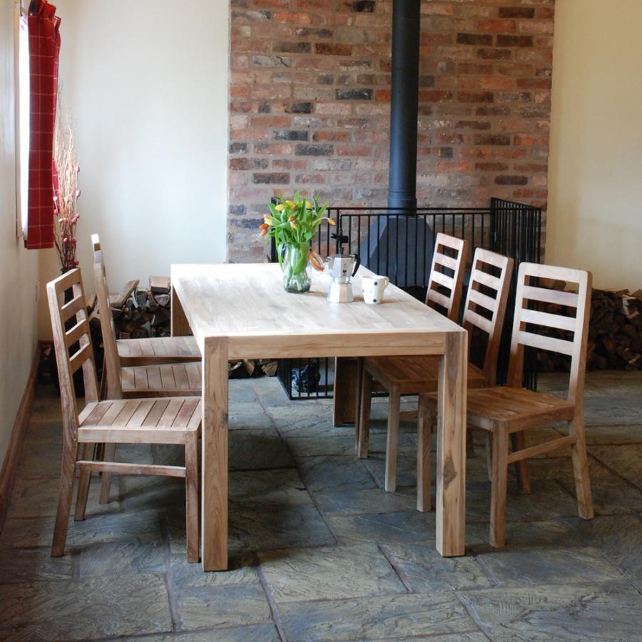 Farmhouse kitchen tables and chairs photo - 3