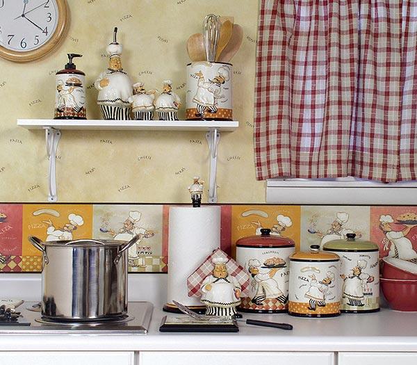 Fat chef kitchen decor photo - 3