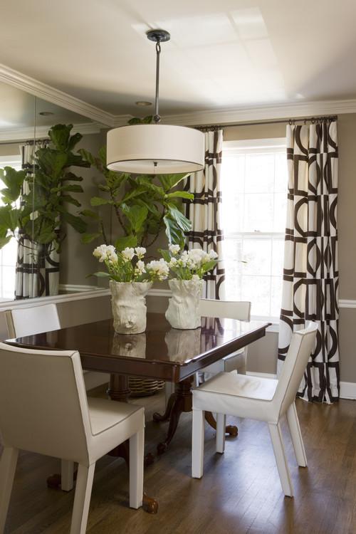 Floral kitchen curtains photo - 1