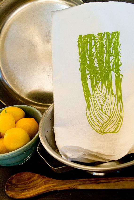 Flour sack kitchen towels photo - 1