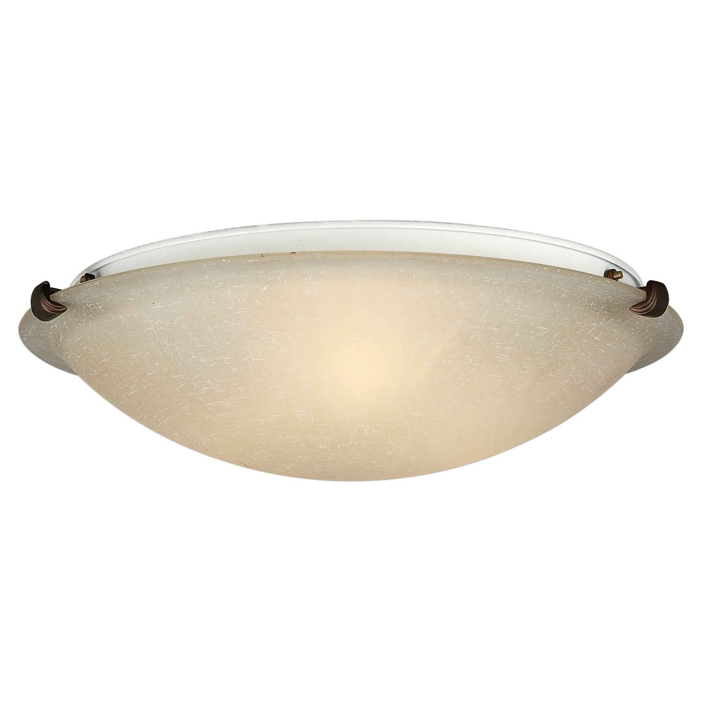 Flush mount fluorescent kitchen lighting photo - 2