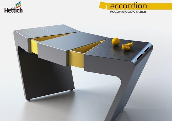 Foldable kitchen table photo - 3