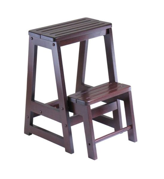 Folding kitchen step stool photo - 2