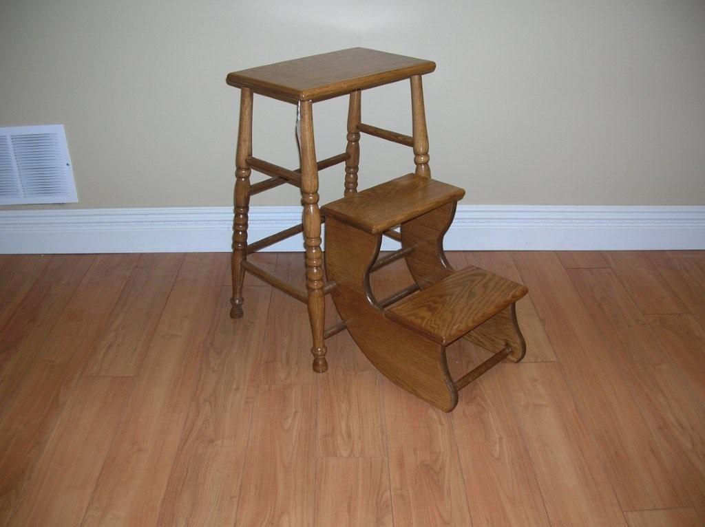 Folding kitchen step stool photo - 3