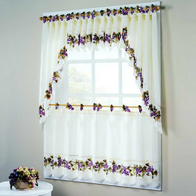10 Photos To Fruit Kitchen Curtains