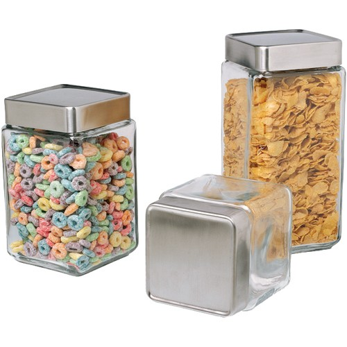 Glass kitchen storage containers photo - 3