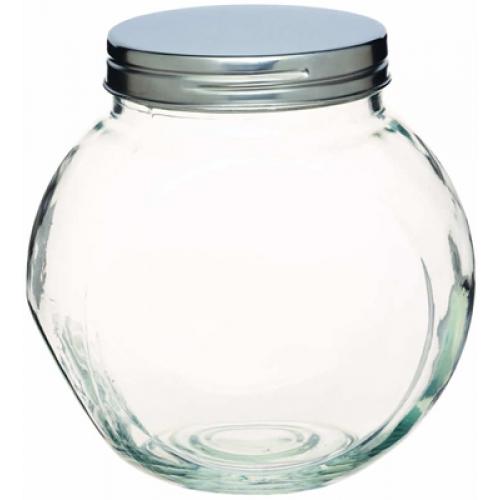 Glass kitchen storage jars photo - 3