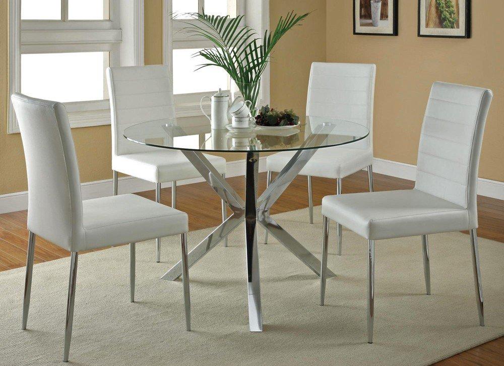 Glass kitchen tables photo - 1
