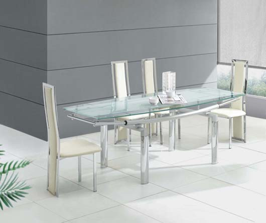 Glass top kitchen table photo - 2