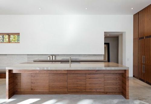 Glass top kitchen table set photo - 2