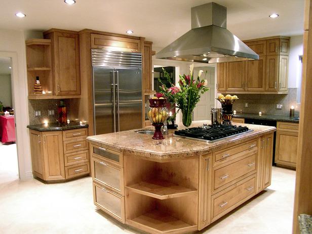 Granite kitchen island table photo - 3